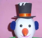 节日用品,EVA圣诞熊太阳帽,DIY玩具,DIY手工艺
