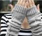 手臂露指造型长手套 三角腕套 手臂套冬暖宝